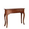 Château Chic Mahogany Wood Classic 1 Drawer Console Table