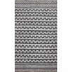 Kilim Hand-Woven Black/Grey Area Rug