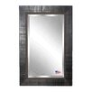World Menagerie Rectangle Tuscan Slim Wall Mirror