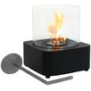 SunnyDaze Decor Cilindro Ventless Bio-Ethanol Tabletop Fireplace