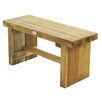 Bel Étage Double Sleeper Wooden Picnic Bench