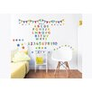 dCor design ABC Learn with Me 3 Piece Wall Sticker Set