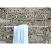 Lily Manor Scroll 66.04cm Wall Mounted Towel Rail