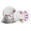 Domestic by Mäser Clasico Floral 18 Piece Coffee Set