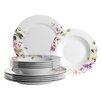 Domestic by Mäser Clasico Floral 12 Piece Dinnerware Set