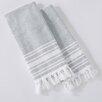 Home Fashion Designs Natasha Fouta Hand Towel (Set of 2)