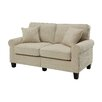 "Breakwater Bay Hereford 61"" Rolled Arm Loveseat"