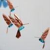Timber Bay Home & Garden Hummingbird Mobile