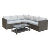 Prestington Marlow 5 Seater Corner Sofa Set