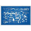 Marmont Hill 'Calgary Canada' Framed Painting Print