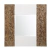 Fairmont Park Nedmond Square Brown Wall Mirror