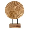 Castleton Home Complements Fluted Disc Sculpture