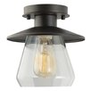 Laurel Foundry Modern Farmhouse La Grange 1-Light Semi Flush Mount