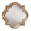 House of Hampton Platinum Gold Decorative Wall Mirror