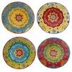 """Alcott Hill Ohlman 10.5"""" Dinner Plate (Set of 4)"""