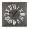 Laurel Foundry Oversized Square Real Wood Wall Clock