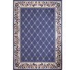 Charlton Home Modena Geometric Country Blue Area Rug
