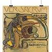 Big Box Art 'Plakatentwurf' by Koloman Moser Graphic Art