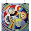 Big Box Art 'Salon Design' by Robert Delaunay Graphic Art