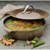 Anolon Vesta 5 Qt. Cast Iron Round Braiser with Lid