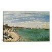 "Charlton Home ""Regatta at Sainte-Adresse 1867"" by Claude Monet Painting Print on Canvas"