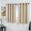 Darby Home Co Sallie Solid Blackout Thermal Grommet Single Curtain Panel
