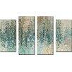 Latitude Run 'Revealed' Framed 4 Piece Set on Canvas