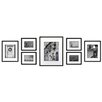 Red Barrel Studio 7 Piece Wood Matted Picture Frame Set