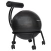 Symple Stuff High-Back Exercise Ball Chair