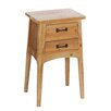 Château Chic Wood 2 Drawer Bedside Table