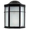 MiniSun Nook Half Lantern Outdoor Bulkhead Light