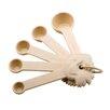 Paula Deen Signature Kitchen Tools 5 Piece Plastic Measuring Spoon Set