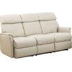 Hyde Line Furniture Padua Leather Layflat Reclining 3 Seater Sofa