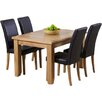 Home Etc Stoke Extendable Dining Set with 4 Chairs