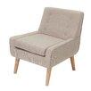 Mercury Row Reese Tufted Fabric Retro Armchair
