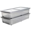 IRIS Plastic Underbed Storage Box (Set of 2)