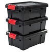 IRIS Power Plastic Storage Box (Set of 3)