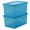 IRIS Modular Plastic Storage Box (Set of 2)