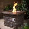 Home Loft Concept Fibreglass Stone Gas Fire Pit