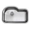 """IPT Sink Company 18 Gauge Stainless Steel 31.5"""" x 21.13"""" Undermount Kitchen Sink"""