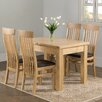 Hazelwood Home Liberty Extendable Dining Set with 4 Chairs