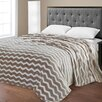 Sweet Home Collection Super Plush Chevron Jacquard Blanket