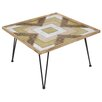 Castleton Home Forge Wood Coffee Table