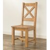 Hazelwood Home Glenmuir Solid Wood Dining Chair (Set of 2)