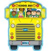 Frank Schaffer Publications/Carson Dellosa Publications 2 sided Decoration School Bus Bulletin Board Cut Out (Set of 3)