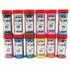 Hygloss Products Inc Bucket O Sand 12 Assorted Colors 1 lb
