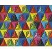 Hokku Designs Pyramids of Colour 3.5m x 2.8m Wallpaper Roll