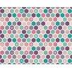 Hokku Designs Princess Bee 3.5m x 2.8m Wallpaper Roll