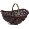 Bel Étage Wicker Trug Garden Basket