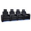 Freeport Park Power Recline Leather Row Seating (Row of 4)